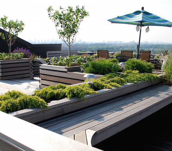 Elegant NYC Roof Decks New York Terraces Rooftop Decking