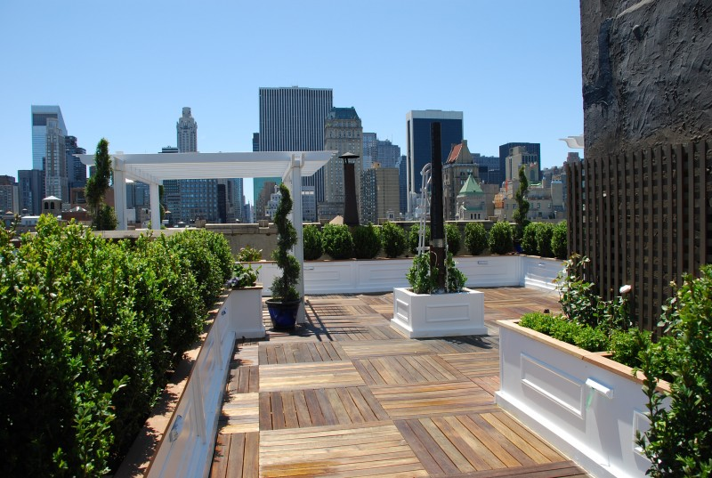 Outdoors New York Rooftop Garden Roundup By Julie Carlson