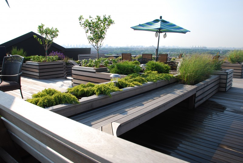 Roof Garden Design Delectable Rooftop Garden Design  Nyc  Brooklyn  Ny Roofscapes Inspiration