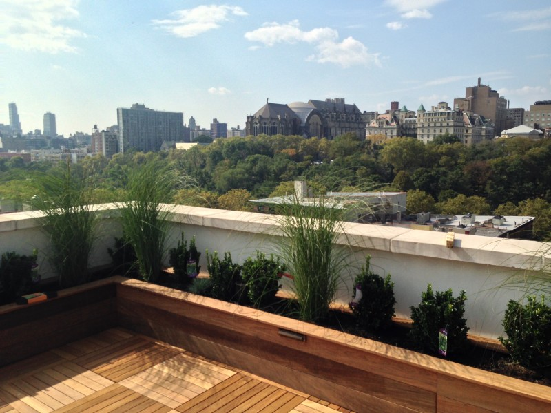 Rooftop garden design nyc brooklyn ny roofscapes for Landscape design new york