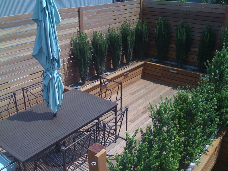 Rooftop Garden Design NYC Brooklyn NY Roofscapes - Rooftop landscaping
