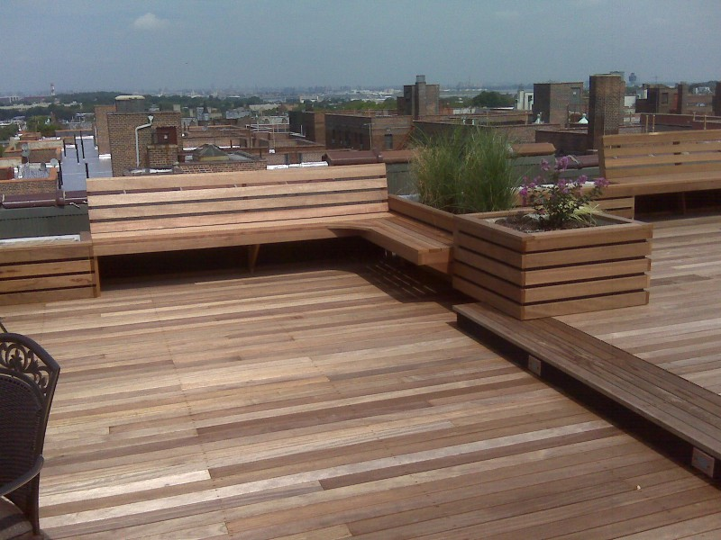 Rooftop design nyc deck design ny roofscapes ny for T g roof decking