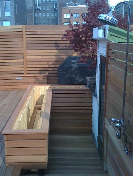 Outdoor Showers New York Deck Builder Ny Roofscapes