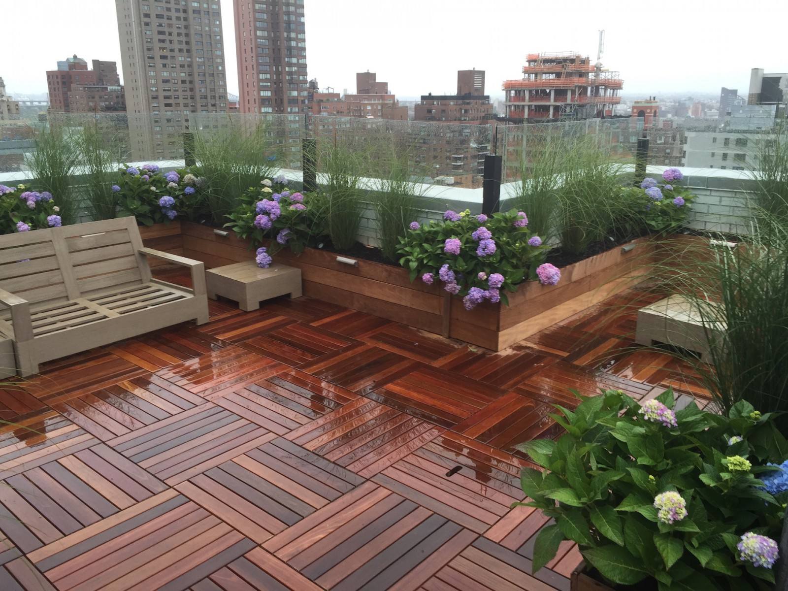Nyc Roof Decks Gardens Rooftop Decks
